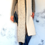 Charisma Tube Scarf Knitting Pattern Brome Fields