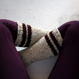 Happiness Tube Sock by Brome Fields