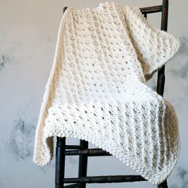 MAGNANIMITY Blanket Knitting Pattern