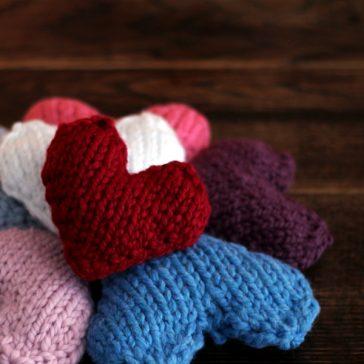 Merciful Heart Knitting Pattern
