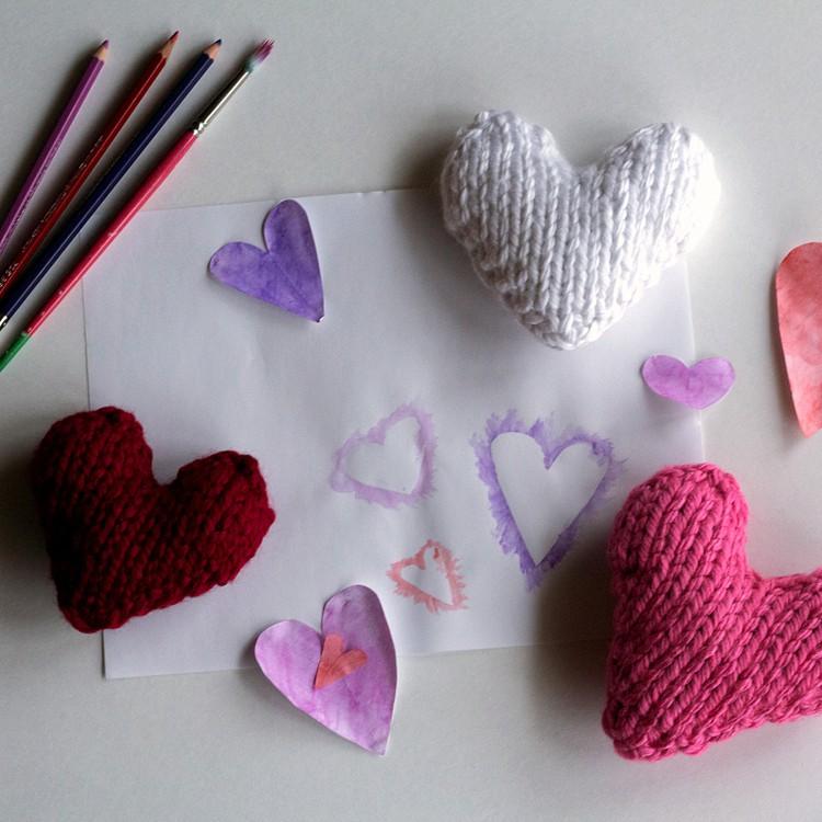 MERCIFUL : Heart Knitting Pattern   Brome Fields
