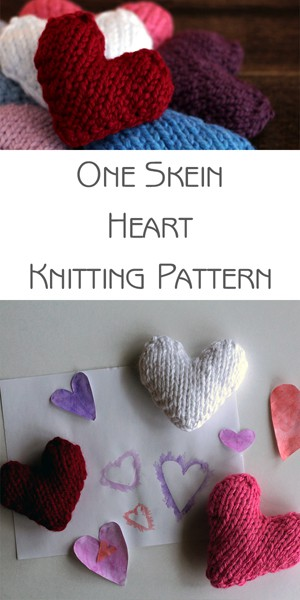 MERCIFUL : Heart Knitting Pattern by Brome Fields