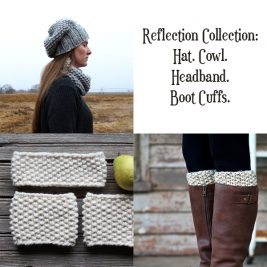 Reflection Collection Knitting Patterns by Brome Fields