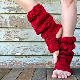 RELAXATION- Women's Leg Warmer Knitting Pattern