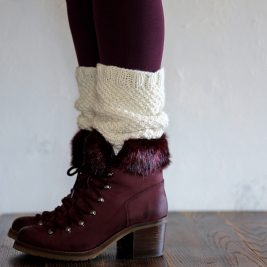LOVE Boot Cuff Knitting Pattern