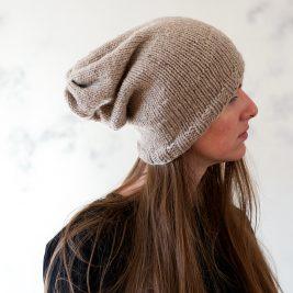 Inspirational : Slouchy Hat Knitting Pattern