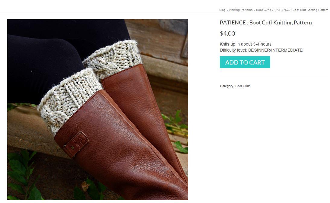 Purchase a Knitting Pattern