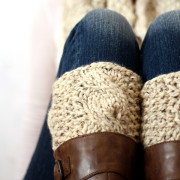 SERENDIPITY - Boot Cuff Knitting Pattern