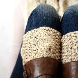 SERENDIPITY - Boot Cuff Knitting Pattern