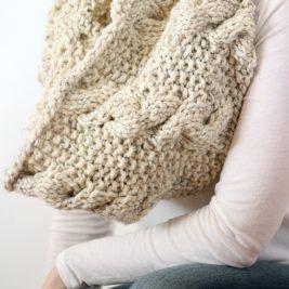 SERENDIPITY : Cowl Knitting Pattern