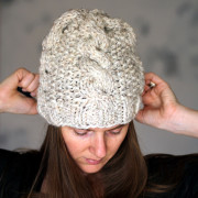 SERENDIPITY : Cable Hat Knitting Pattern