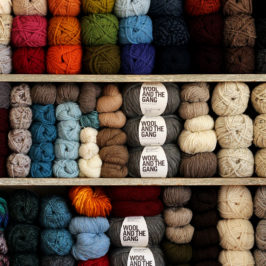 Knitting Inspiration : The Yarn Stash