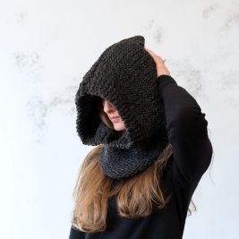 TRANQUILITY : Hooded Cowl Knitting Pattern
