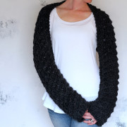MAGNANIMITY : Shawl Shrug Knitting Pattern