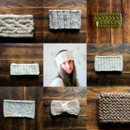 6 New Headband Knitting Patterns ;)