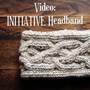 Initiative Headband Knitting Pattern