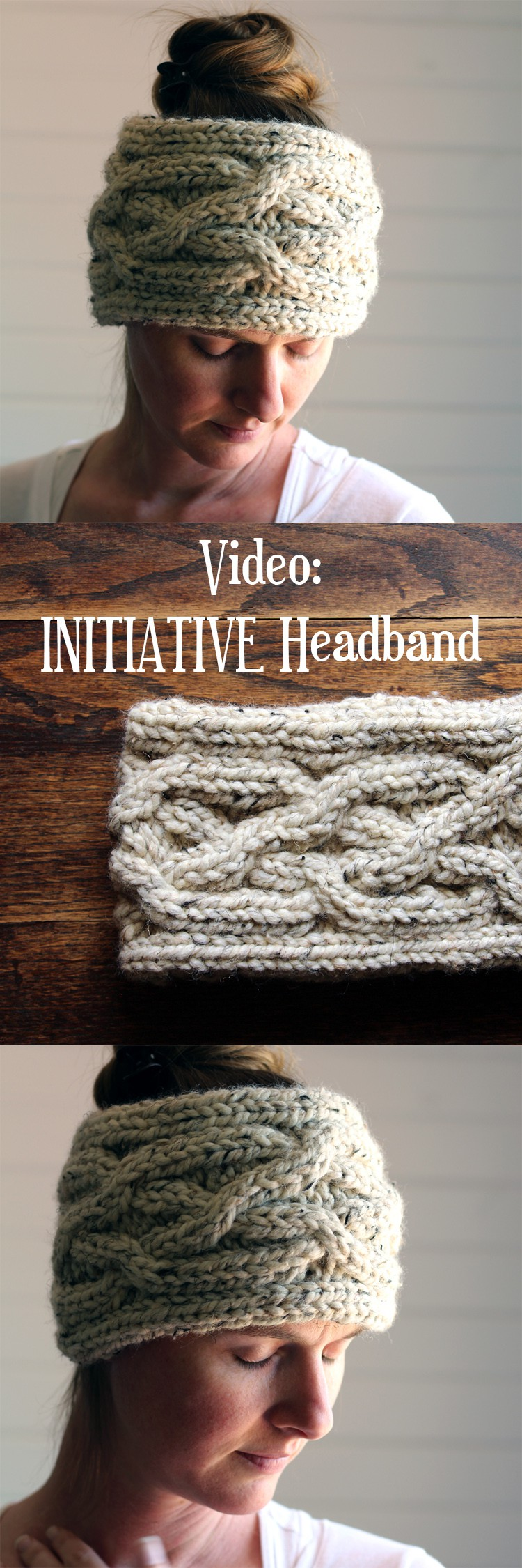 Video: Initiative Headband Knitting Pattern