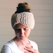 RESILIENCE Headband Knitting Pattern by Brome Fields