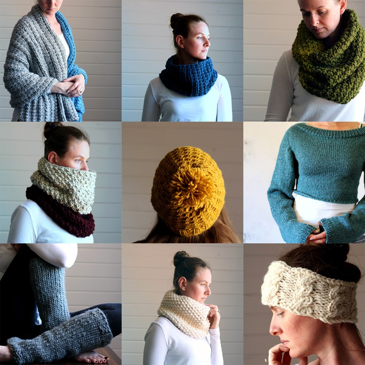 9 New Knitting Patterns