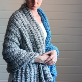 BLESSING : Blanket Knitting Pattern