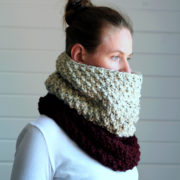 Comfort Cowl Knitting Pattern by Brome Fields