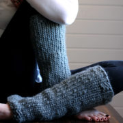 ENLIGHTENMENT - Women's Leg Warmer Knitting Pattern