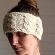GRACE : Headband Knitting Pattern by Brome Fields