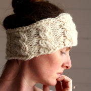 GRACE : Headband Knitting Pattern by Brome Fields