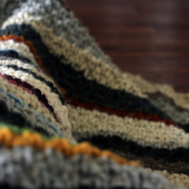 Stripped Blanket… Hobo Blanket… Weasley Blanket