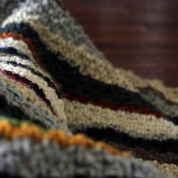Striped Blanket… Hobo Blanket… Weasley Blanket