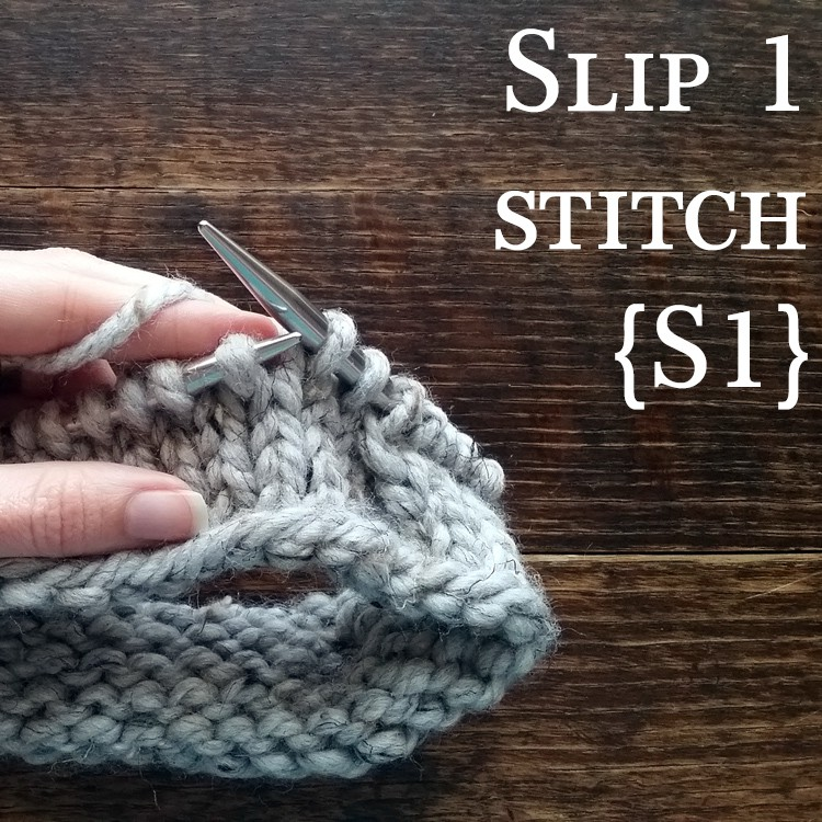 Knitting Stitch Slip 1 Wyif : Video: Slip 1 Stitch {S1}   Brome Fields