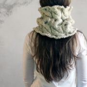 Sincerity Cowl Knitting Pattern by Brome Fields