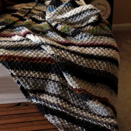 THRIFTY : Blanket Knitting Pattern by Brome Fields