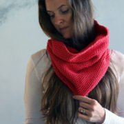 UPLIFTING: Cowl Knitting Pattern