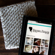 COURAGEOUS : iPad Case Cover Knitting Pattern
