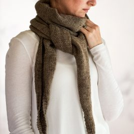 ACCOUNTABILITY : Scarf Knitting Pattern
