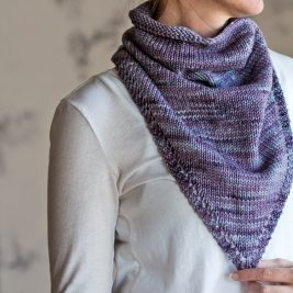 CHEERFUL : Bandana Kerchief Knitting Pattern