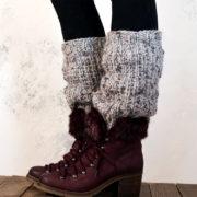 CONSIDERATION - Boot Cuff / Leg Warmer Knitting Pattern