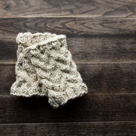 ENDURANCE - Ankle Warmer / Leg Warmer Knitting Pattern