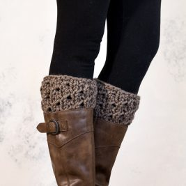 FORBEARANCE- Boot Cuff Knitting Pattern