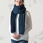 FORGIVENESS : Women's Scarf Knitting Pattern