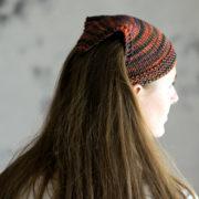 GRIT : Bandana Kerchief Knitting Pattern