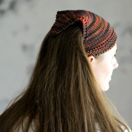 GRIT : Bandana Kerchief Knitting Pattern