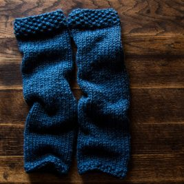HELPFULNESS - Women's Leg Warmer Knitting Pattern