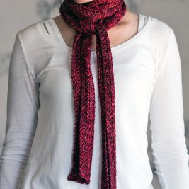 INTERCONNECTED : Scarf Knitting Pattern