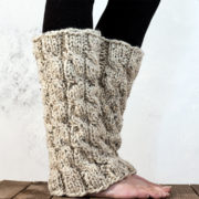 MAJESTY - Women's Leg Warmer Knitting Pattern