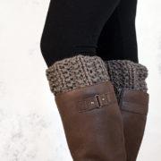 NOBILITY - Boot Cuff Knitting Pattern