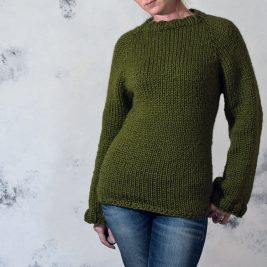 PRUDENCE - Sweater Knitting Pattern