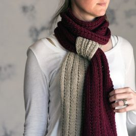 RELIABLE : Scarf Knitting Pattern