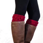 SERENITY - Boot Cuff Knitting Pattern